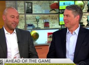 Tim Green Promotes Newest Book with Derek Jeter